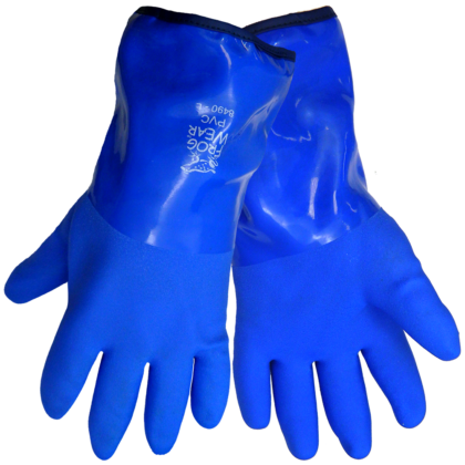 PVC dipped winter gloves